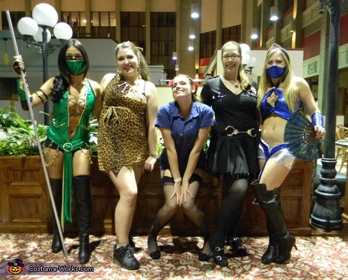 Mortal Kombat Characters - Homemade costumes for groups