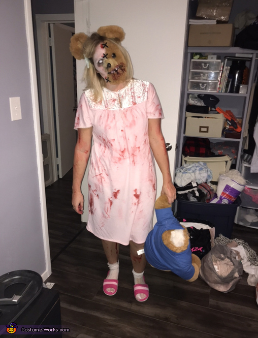 Out of a Nightmare Costume