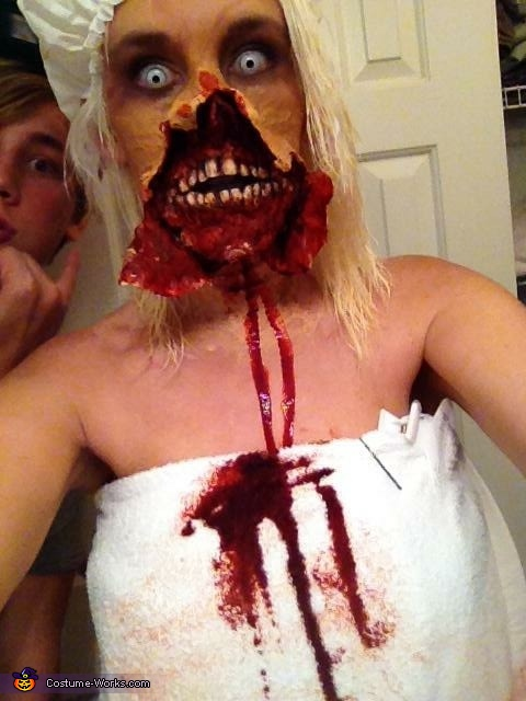 "Brainssssssss, ""Out of the Shower"" Zombie Costume"