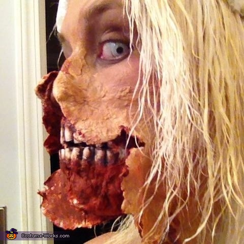 "Profile, ""Out of the Shower"" Zombie Costume"