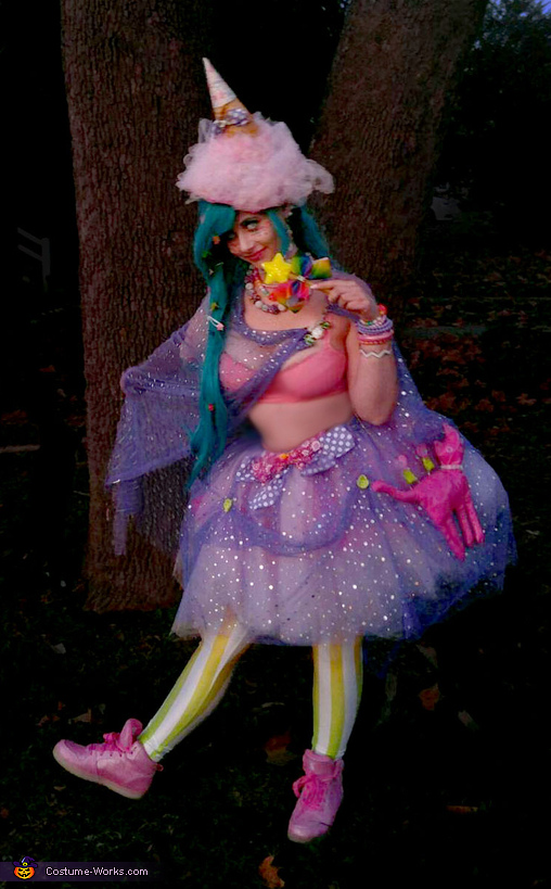 Over the Top Candy Witch Costume