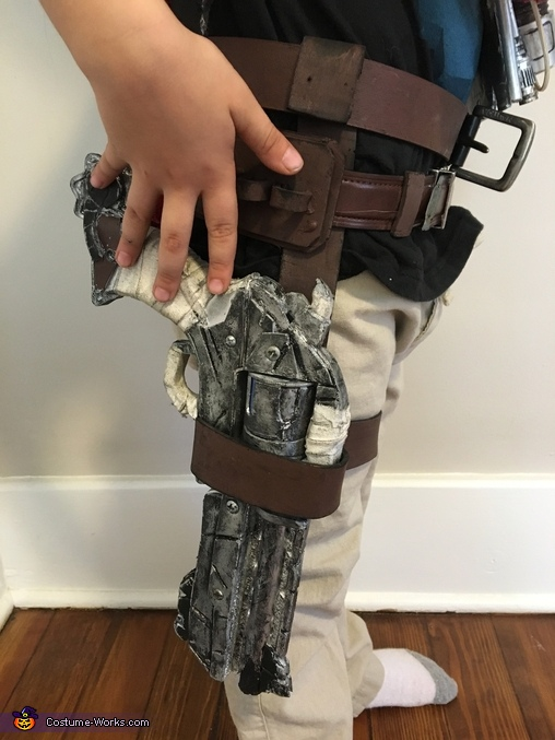 The holster, Overwatch McCree Costume