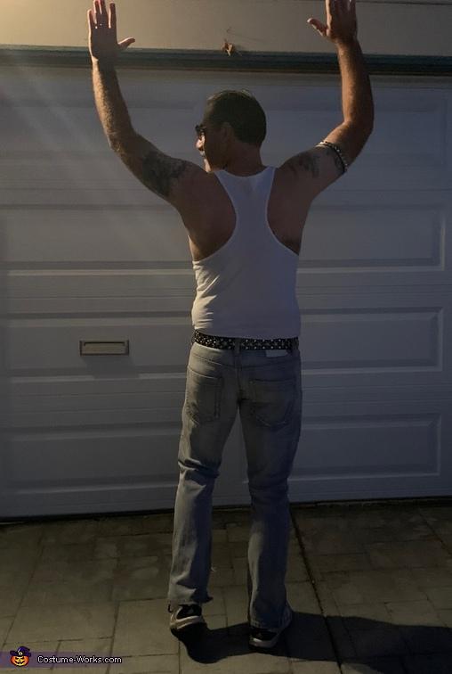 Back shot, Overweight Freddie Costume