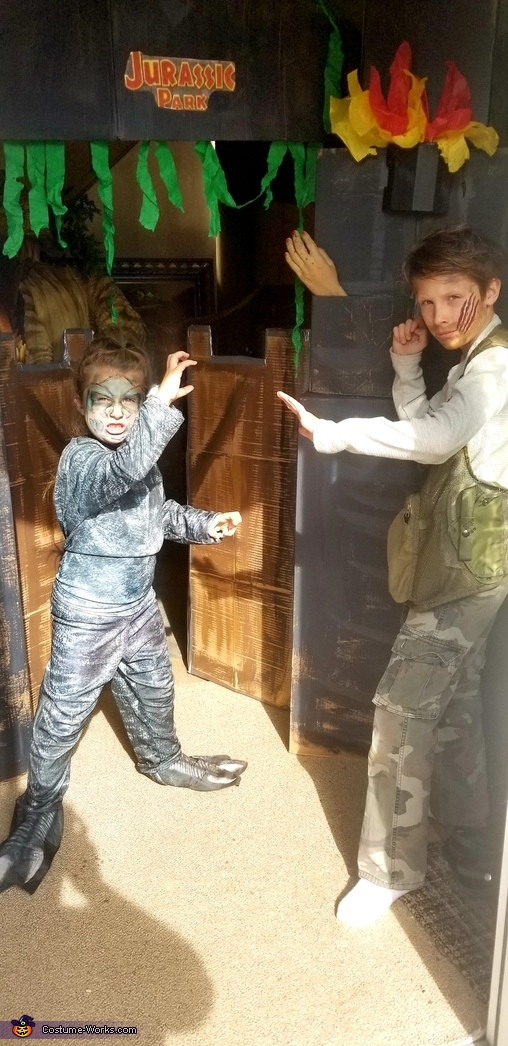 Owen and Blue, Owen Grady and Blue Costume