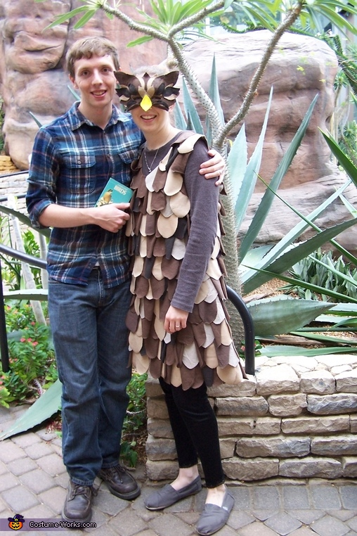 The Owl and the Birdwatcher, Owl Costume