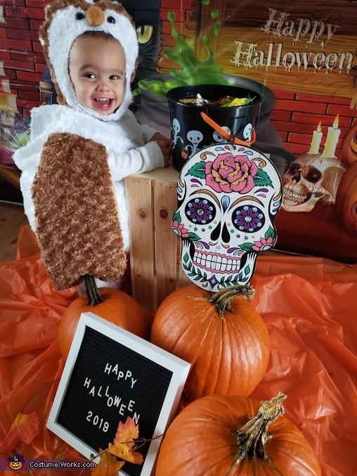 'I love halloween', Owl Costume