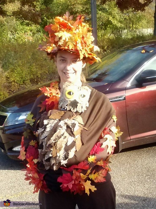 Owl on a Tree Costume