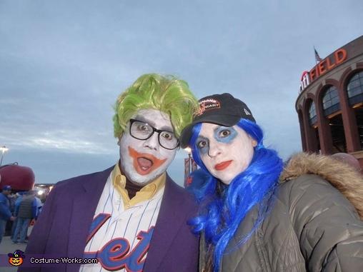 Joker & Harley Quinn as Mets Fans Homemade Costume