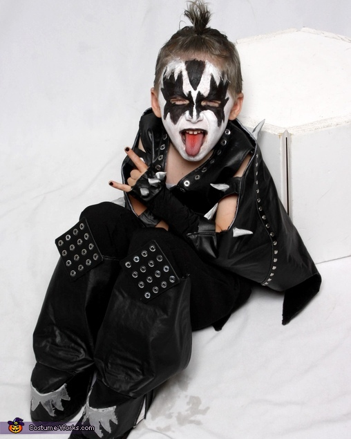 Rock & Roll, The Demon Gene Simmons Costume