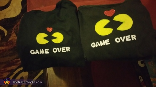Pac-Man Love Homemade Costume