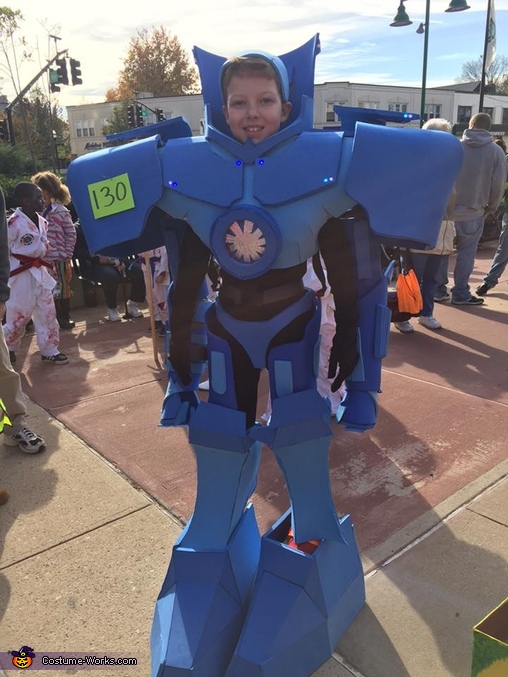 Gypsy Danger from Pacific Rim Costume