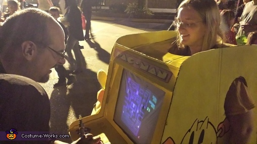 Play on!, Playable Pacman Arcade Game Costume