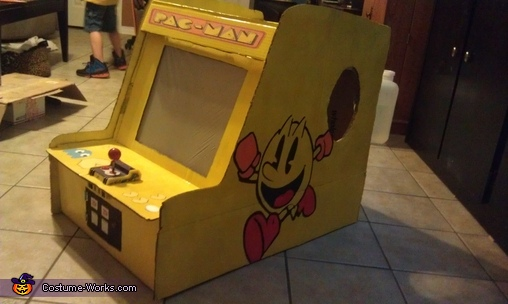 Pacman Arcade Game Homemade Costume