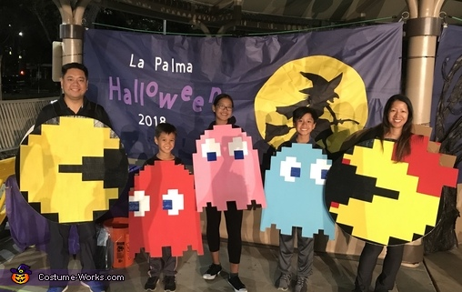 PacMan Family Costume