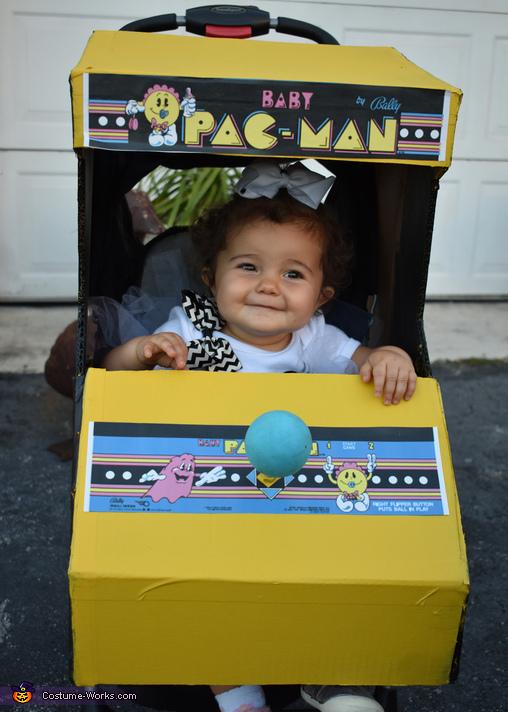 Baby Pacman, Pacman Family Retro Fun Costume