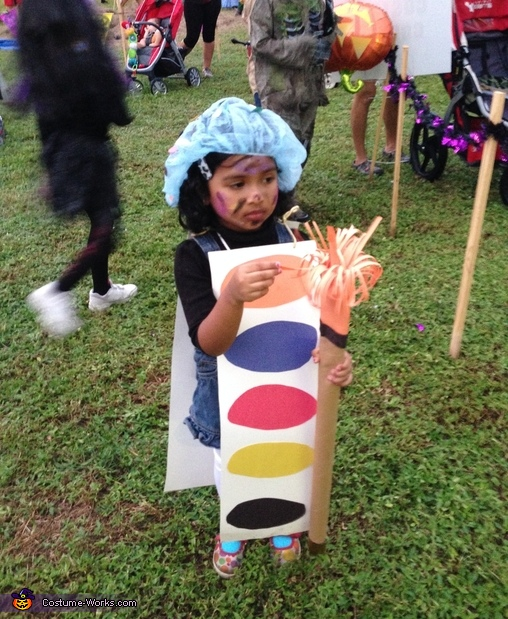 Paint and Brush Costume