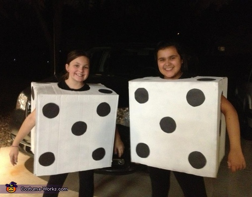 Pair of Dice Costume