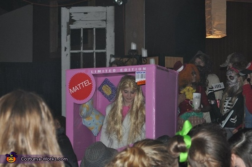 Pajama Party Barbie-in-a-Box Costume