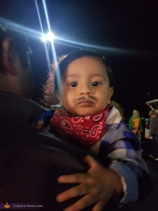 his mustach lol, Paletero (Ice Cream Vendor) Costume