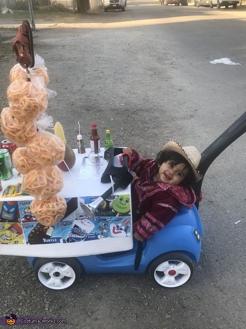 Paletero Ice Cream Man Homemade Costume