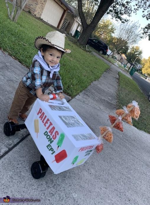 Paletero Man Don Epi Costume