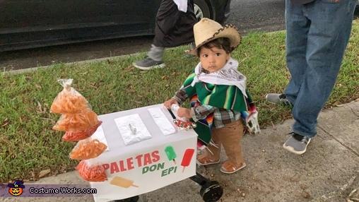 Paletero Man Don Epi Homemade Costume