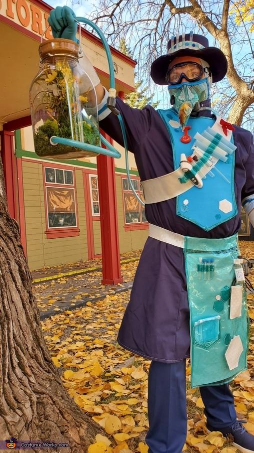 Pandemic Doctor Homemade Costume