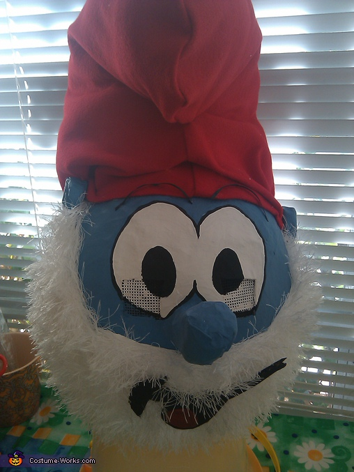 Papa Smurf, Homemade Smurfs Costumes