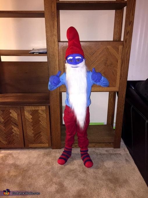 Austin , Papa Smurf Costume