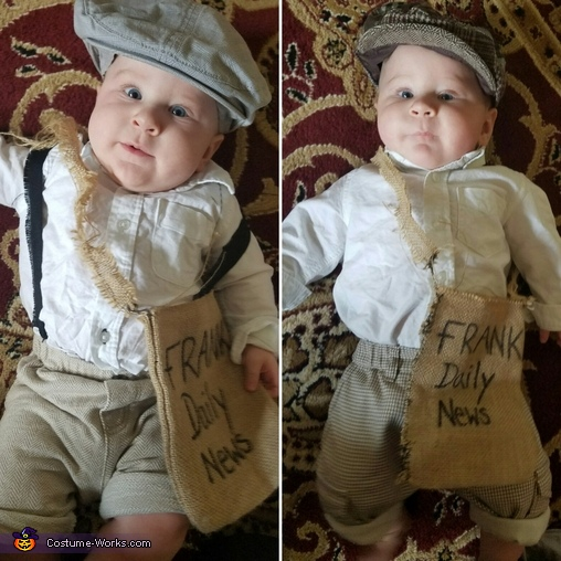 Paper Boys Costume