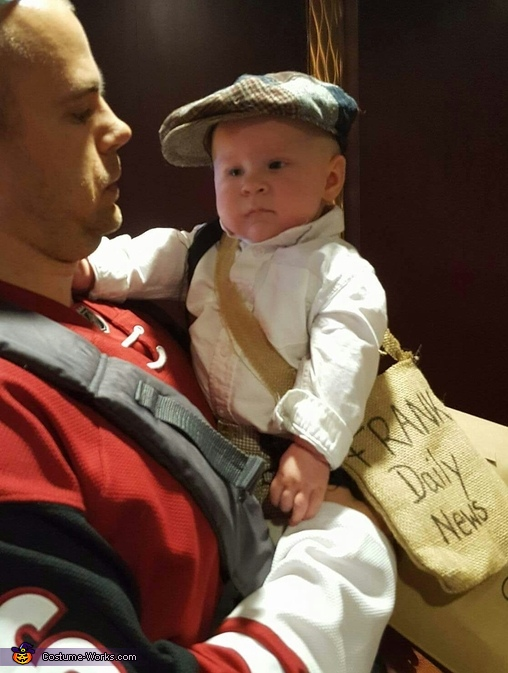 Jamey, Paper Boys Costume