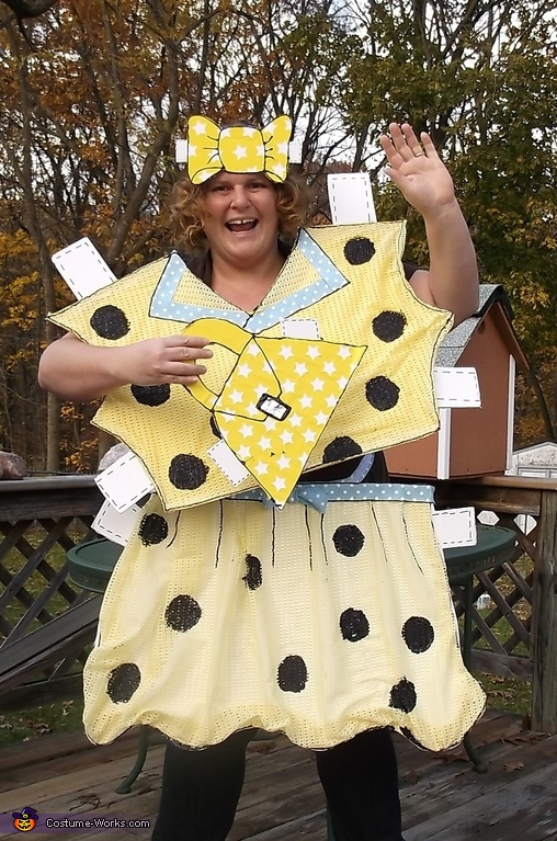 DIY Paper Doll Costume