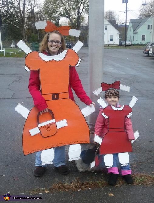 Paper Dolls Costume