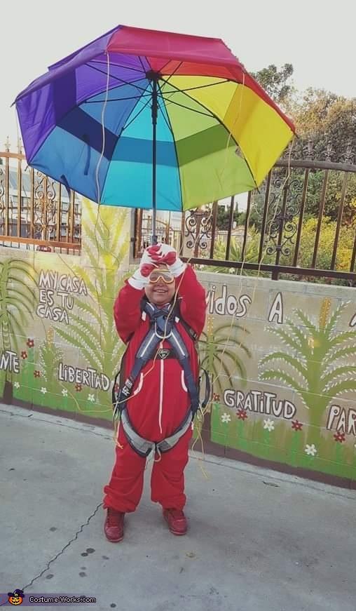 Parachute Boy Costume