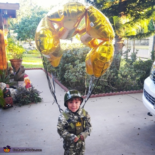 Mr. Paratrooper Costume