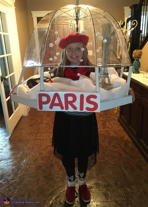Paris Snow Globe Homemade Costume