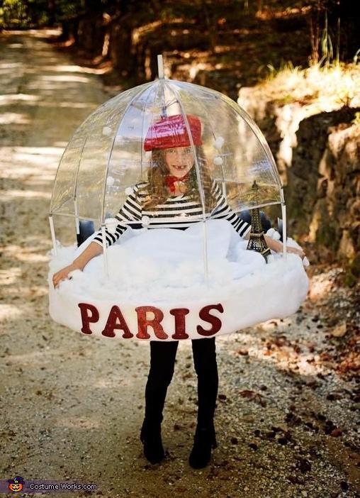 Paris Snowglobe Costume