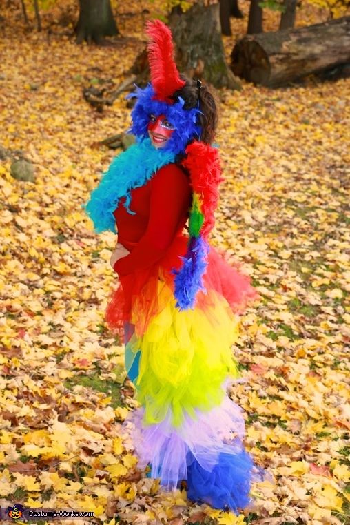 Parrot. Side View. , Parrot Costume