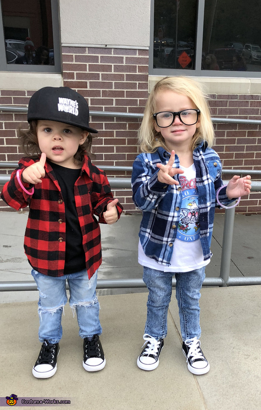 Party on Wayne! Party on Garth! Costume
