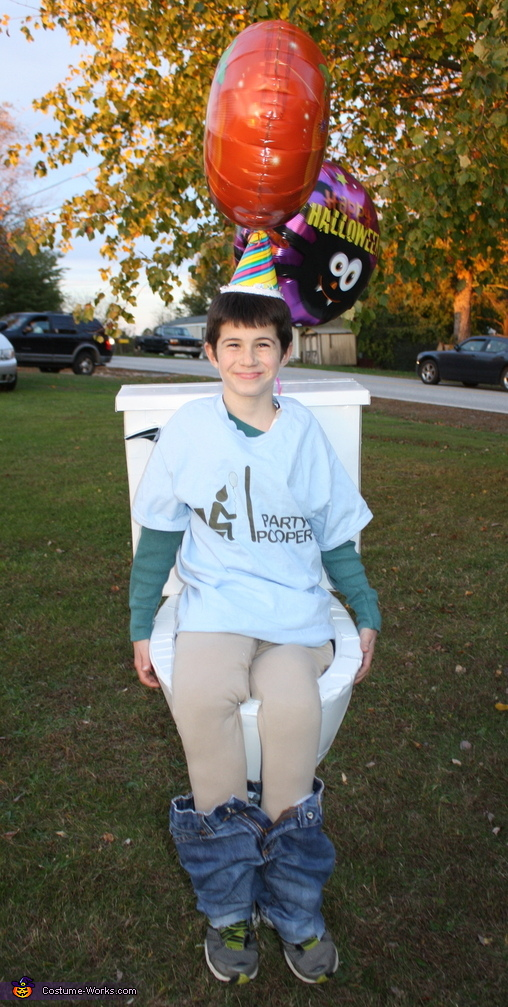 Timmy the Party Pooper!, Party Pooper Costume