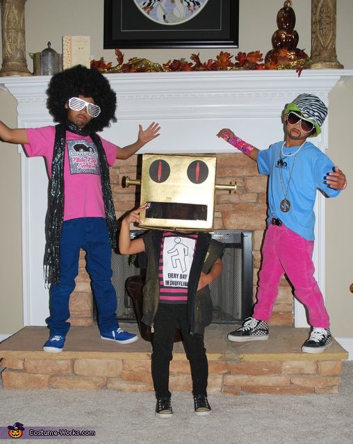 Party Rockers - Homemade costumes for kids