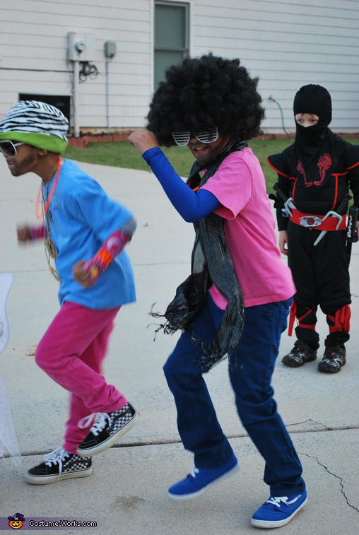 Every Day I'm Shufflin'.  - Homemade costumes for kids