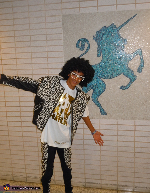 Party Rocking at the School Tonight! Redfoo Costume - Homemade costumes for boys