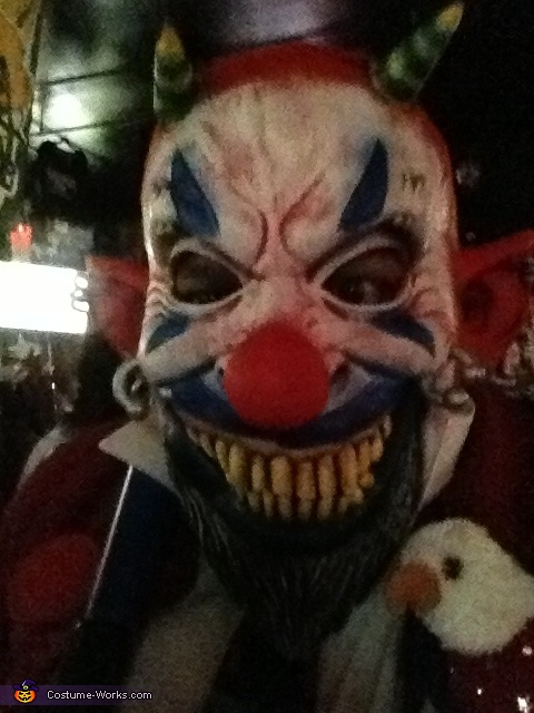 Patriotic Clown Costume