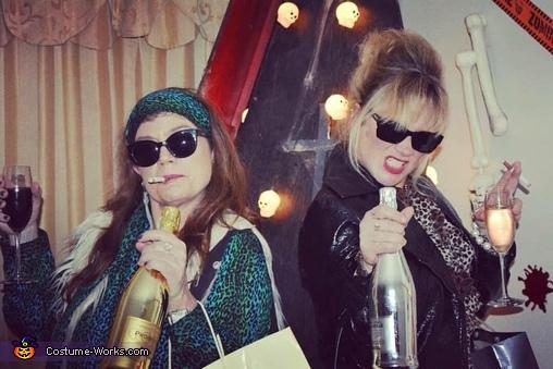 Patsy and Edina from Ab Fab Costume