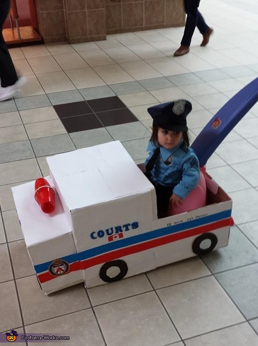 Patty Wagon Cop Costume
