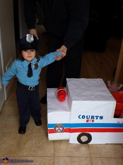 Officer Adorable, Patty Wagon Cop Costume