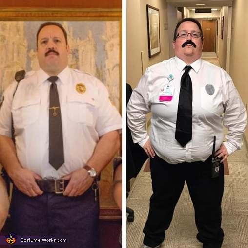 Paul Blart Mall Cop Costume Photo 2 3