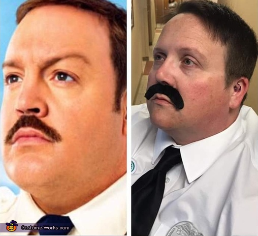 Paul Blart Mall Cop Homemade Costume