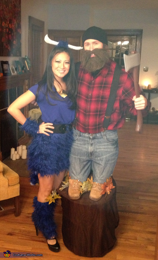 Paul Bunyan and Babe the Blue Ox Costume